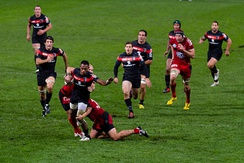 Rugby union: Stade toulousain against Toulon (September 2012).