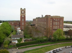 The former Terry's chocolate factory, 2008. Taken from the 4th floor of the Ebor stand at York Racecourse