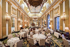 The Great Gallery restaurant at the Pall Mall clubhouse