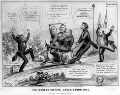 """The Modern Gilpins"" - rivalry between the Hunkers and anti-slavery Democrats"