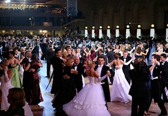 Vienna Ball in Moscow, Russia