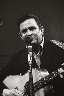 Johnny Cash was one of the most popular country music artists during the 1960s.