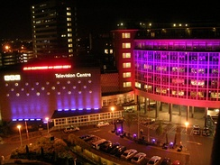 Television Centre on Election Night, 5 May 2005