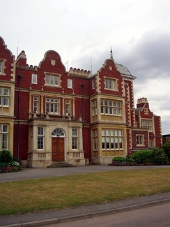 Front of Babraham Hall