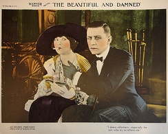Lobby card from The Beautiful and Damned (1922)