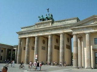 Brandenburg Gate in 2003