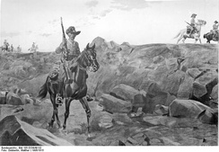 German mounted troops in South West Africa