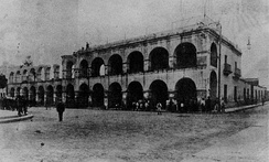 Demolition of the former Cabildo, 1908.
