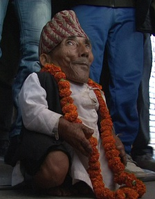 Chandra Bahadur Dangi (Nepal) recognised as world shortest man ever by Guinness World Records