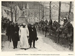 Forcible closure of the Grande Chartreuse monastery in 1903
