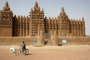 The Great Mosque of Djenné in the west African country of Mali