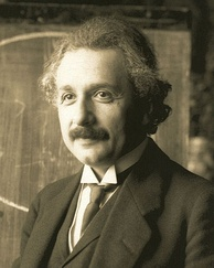 Albert Einstein, physicist. The Nobel Prize has been awarded to 107 German laureates.