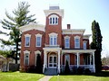 The Italianate style Farnam Mansion in Oneida, New York. Built circa 1862