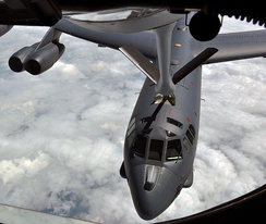 B-52H being refueled from a KC-135 Stratotanker tanker