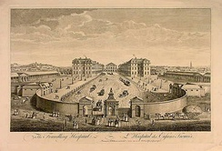 The Foundling Hospital. The original building has since been demolished.
