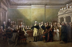 December 23: General George Washington Resigning His Commission