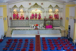 The Gibraltar Hindu Temple, opened in 2000