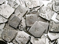 Hoard of mostly Mauryan coins.