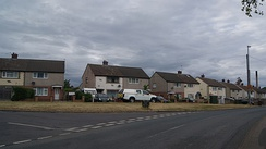 Former NCB houses in Pontefract.