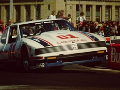 Robin McCall in the Hoerr Racing GTO Oldsmobile (1987)