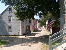 Jefferson Street at the Strawbery Banke Museum