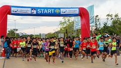 The Borneo International Marathon in 2015.