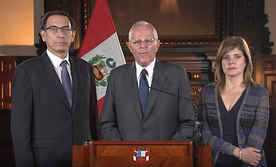 Peruvian President Pedro Pablo Kuczynski and his Vice President and successor Martín Vizcarra were both impeached and removed from office.