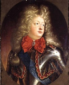The Grand Dauphin (1661–1711), only surviving legitimate son of Louis XIV (1638–1715).  Bossuet served as his tutor 1670–1681.