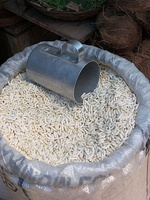 Puffed rice for sale in Ulsoor Market, Bangalore