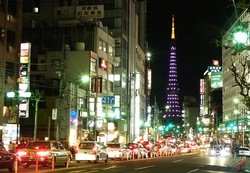 Roppongi at night