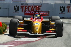 Sebastien Bourdais at Long Beach in 2005.