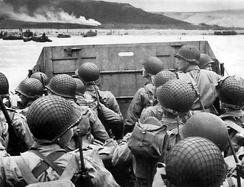 Saving Private Ryan was noted for its recreation of the Omaha Beach landings