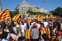 Support for Catalan independence is based on the idea that Catalonia is a nation