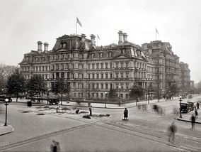 State, War, and Navy Building in 1917