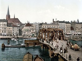 Stettin in the late 19th century