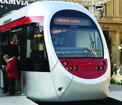 Tramway Sirio in Florence