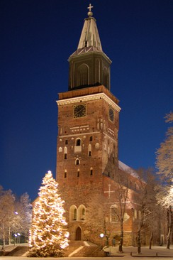 The Cathedral of Turku is considered the national shrine of Finland, and is the seat of its de facto primate.