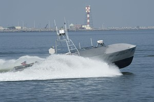 US Navy 110720-N-ZZ999-007 A common unmanned surface vehicle patrols for intruders during Trident Warrior 2011.jpg