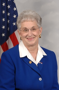Virginia Foxx, who was re-elected as the U.S. Representative for the 5th district