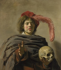 Frans Hals, Young Man with a Skull