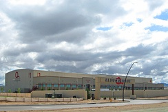 Albuquerque Studios, built in 2007 for the rising demand of film production in the state