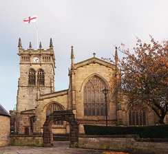 All Saints' Church was substantially rebuilt between 1845 and 1850.[19][20]