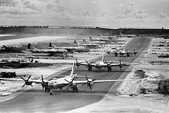 B-29s of the 462d Bomb Group West Field, Tinian