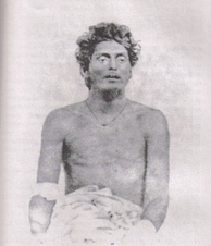 Bagha Jatin, wounded after his final battle at the banks of Burha Balang, off Balasore. His enterprise was deemed one of the most significant threats to British India in autumn 1915.