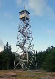Balsam Lake Mountain fire tower in 2008