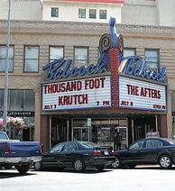 The historic Babcock Theater