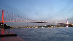 October 30: Bosphorus Bridge was opened by Turkish President Fahri Korutürk