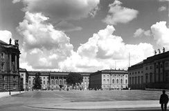 The Friedrich-Wilhelm University, Berlin, as it was in the 1930s