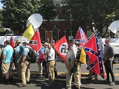 August 12: The Unite the Right rally left three people dead