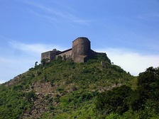 View of the Citadelle Laferrière, in northern Haiti